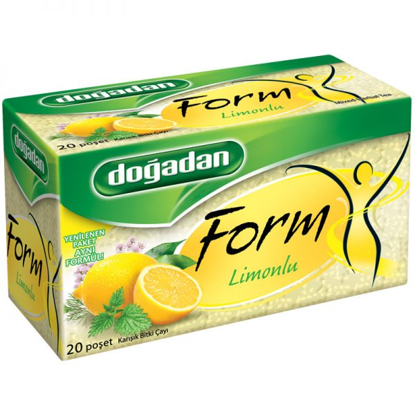 Чай форм с лимоном