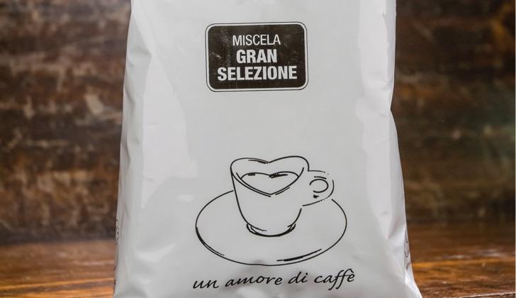 Итальянский зерновой кофе Гран селезионе 1 кг