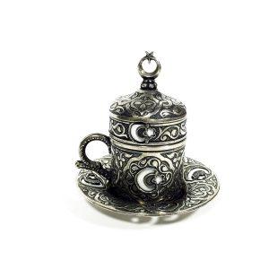 Кофейный восточный набор в металле