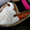 викинг с рогами