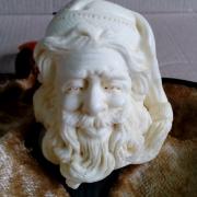 дед мороз санта трубка курительная