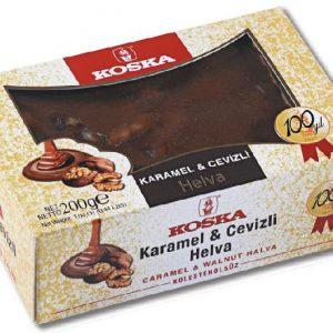 Халва летняя с карамелью и какао орехами